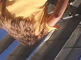 Barley Upskirt Sexy Teen Brunette