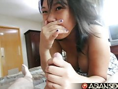 Asian Sex Diary - Filipina MILF ssie i pieprzy białego faceta
