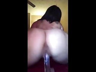 porno zadarmo - Pawg fucking her dildo.