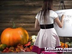 Lelu Love-Novembre 2015 Cum Schedule