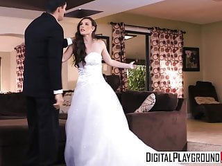 Blowjobs Cumshots video: DigitalPlayground - Wedding Belles Scene 2 Casey Calvert Bra