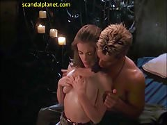 Alyssa Milano Nude Boobs in Poison Ivy 2 film