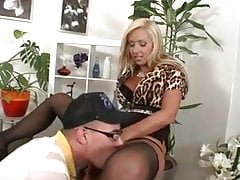 Hot European MILF wants a young dick