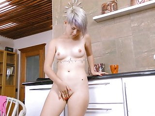 Blondes Babes Squirting video: TeenMegaWorld - Beauty-Angels - Coffee and a sex toy
