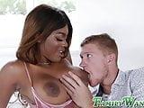 Busty Ebony stepsister Jordy Love fucks her big cocked bro