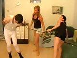 Femdom-Fetish Ladies dominate custom slaves!