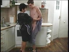 Sex With Mature After Shower
