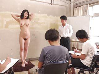 字幕CMNF ENF害羞日本摩洛伊斯兰解放阵线裸体艺术课高清