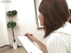 Japoński model nago cfnm