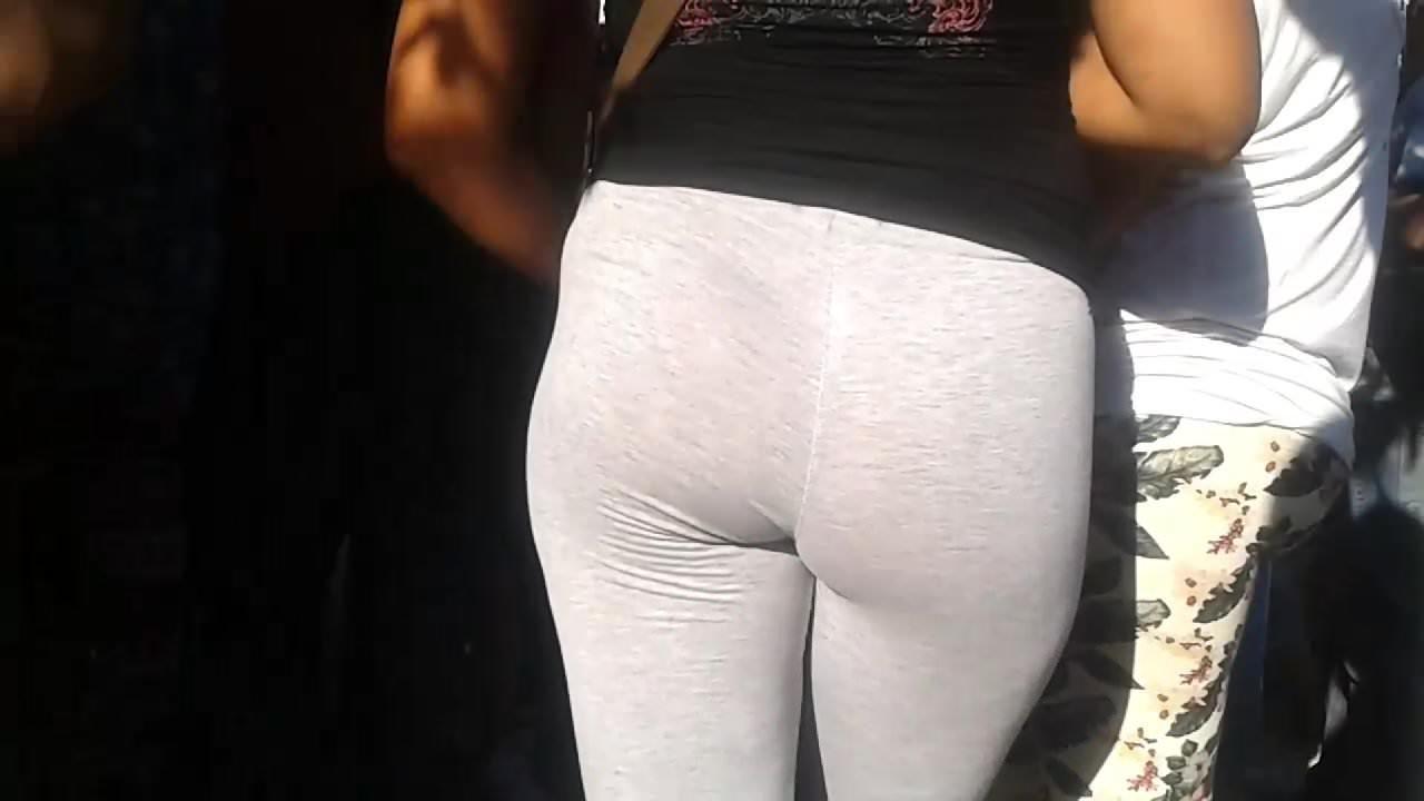 Nice ass grey spandex – Voyeur argentina