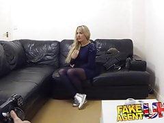 FakeAgentUK Spunk gurgelnder tschechischer Fickagent