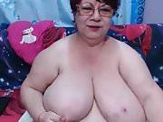 Huge Boobs Granny