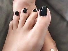 sexy Füße leben auf IG