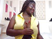 Sexy Ebony Latina BBW Webcam Big Tits Teasing