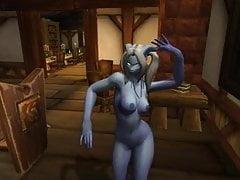 Warcraft - dva tančící Draenei