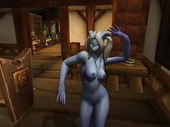 Warcraft - Deux draeneï dansants