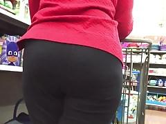 Granny Phat Ass w spandeksie