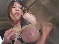Una schifosa mungitura giapponese sadomaso bondage bdsm ...