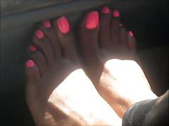 Cyidah Sudan Pink Toenails