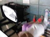 Downblouse at Laundry Mat