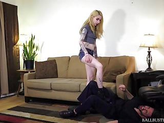 Femdom Ballbusting Humiliation video: Ballbusting Beauties Destroying Balls