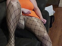 Spandex Angel - Teasing hubby's friend compilation