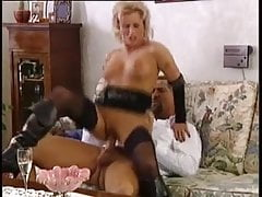 Sexy hot german mature Pierced tits