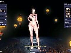Creazione di personaggi mod nudi Blade and Soul