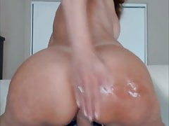 Sexy big ass dildo zralý