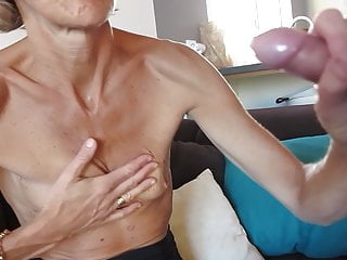 Lingerie Blonde Small Tits video: my wife in mode off