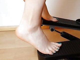 Foot Fetish Footjob Bbc video: Fitness feet