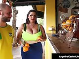 Phat Ass Cuban Angelina Castro Pussy Banged By A Horny Guy!