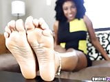 Ebony Soles in your face