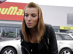 Hunt4k. Dirty-minded Light-haired Lass Is Blessed To Have Lovemaking Money