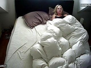 Fingering Voyeur Wife video: Caught masturbation under cover 3