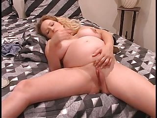 Pregnant Babe Sex Toy video: Natural Busty Prego Babe With Big Nipples -Deviant-