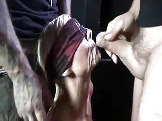 Cumshots Group Sex video: Great bukkake with cum swallow