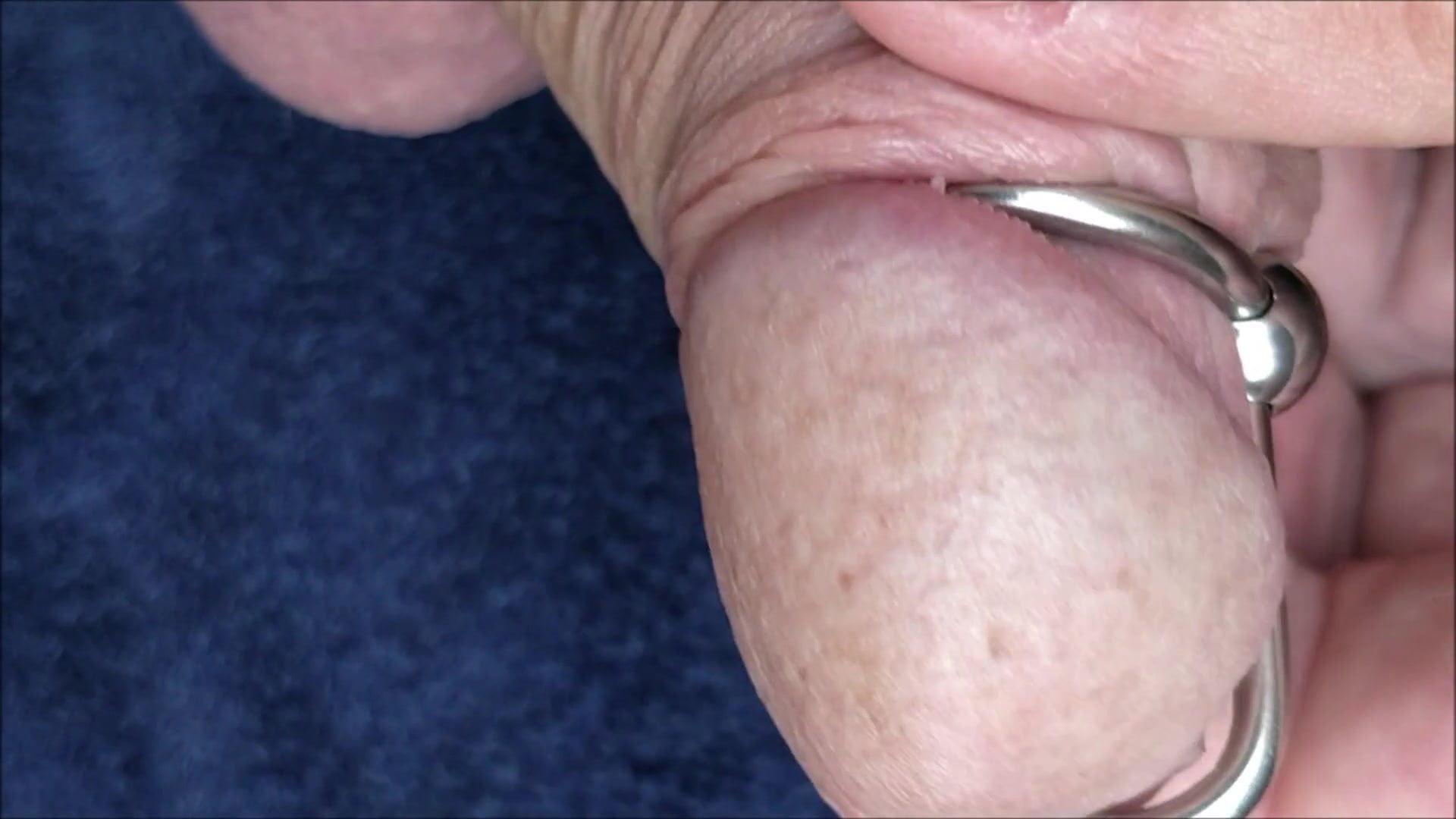 My extreme peehole gape – sounding