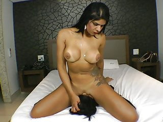 First Face Fucking experience for Juju - Sensual FaceSitting
