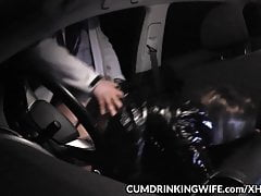 Marion's brand new car sex dogging adventures