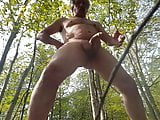 doing in the forest wanker