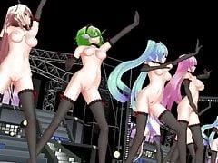 MMD Vocaloid Dance Crew