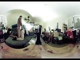 VR 360 Grad BBW Doggy und Cum