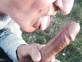 My good daddy blowjob