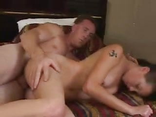 Skinny Noisy Chick Gets Hammered