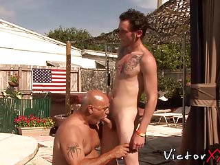 Gay fuck session on a memorial day...