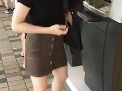 Syt in black skirt atm