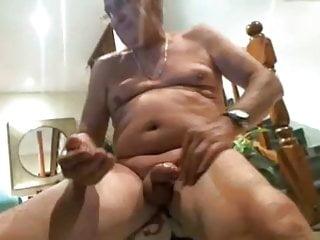 Yuri234 grandpa his uncut cock...