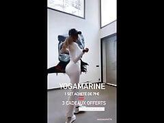 Marine El Himer (Les marseillais) leggings haul (reality tv)
