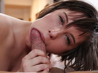 Saucy Babe Ana Bell Takes Big Facial